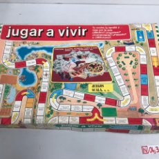 Juegos de mesa: JUEGO MESA JUGAR A VIVIR, SCALA. Lote 194737960