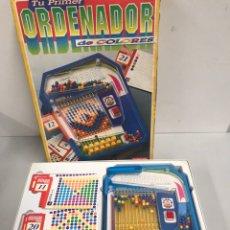 Juegos de mesa: TU PRIMER ORDENADOR DE COLORES DINOVA. Lote 194738217