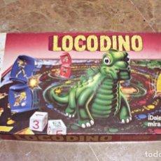 Juegos de mesa: LOCODINO DE MB, DE LOS AÑOS 80. Lote 194776965