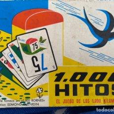 Juegos de mesa: 1000 HITOS EL JUEGO DE LOS 1000 KM. Lote 194863132