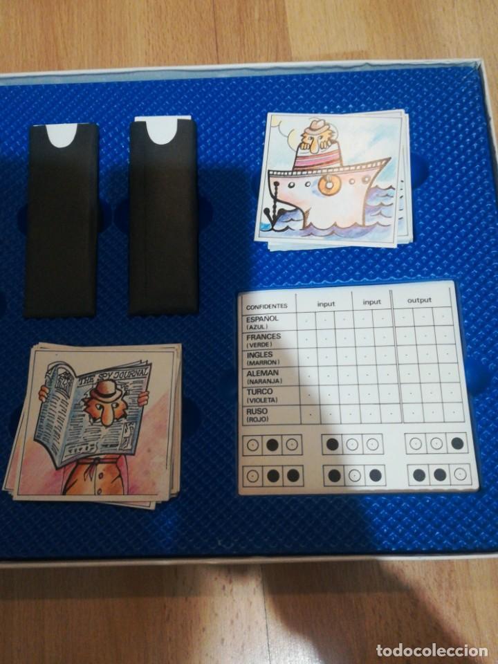 Juegos de mesa: Juego de mesa espías y confidentes de borras - Foto 4 - 194878287