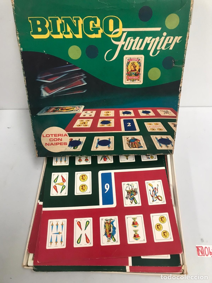Juegos de mesa: JUEGO LOTERIA CON NAIPES - BINGO FOURNIER - HERACLIO VITORIA SPAIN - Foto 2 - 194894665