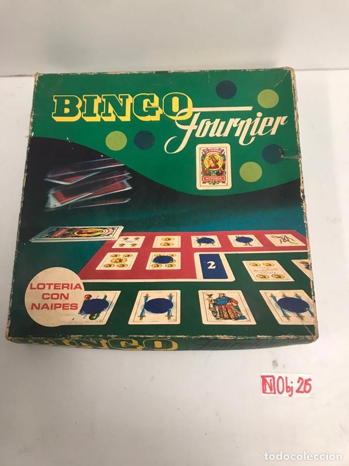 JUEGO LOTERIA CON NAIPES - BINGO FOURNIER - HERACLIO VITORIA SPAIN (Juguetes - Juegos - Juegos de Mesa)