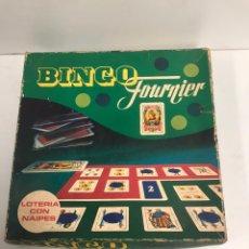 Juegos de mesa: JUEGO LOTERIA CON NAIPES - BINGO FOURNIER - HERACLIO VITORIA SPAIN. Lote 194894665