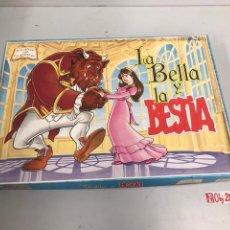 Juegos de mesa: LA BELLA Y LA BESTIA PRESCHOOL. Lote 194897565