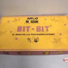 Juegos de mesa: BIT BIT EL JUEGO DE LAS TELECOMUNICACIONES. Lote 194901267