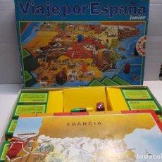 Juegos de mesa: JUEGO VIAJE POR ESPAÑA EDUCA REF 4131 JUNIOR EN CAJA ORIGINAL . Lote 194914162