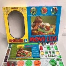Juegos de mesa: MOVI-LUX AIRGAM ELECTRO L MOVILUX 525/1 LA ELECTRICIDAD AL ALCANCE DE LOS NIÑOS. Lote 194923393