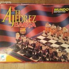 Juegos de mesa: AJEDREZ BARCA MUNDO DEPORTIVO . Lote 194953751