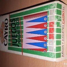 Juegos de mesa: JUGUETES MAGNETICOS CAYRO-BACKGAMMON. Lote 194960148