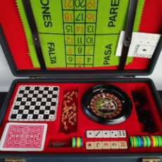 Juegos de mesa: JUEGOS REUNIDOS MALETÍN. Lote 194963323