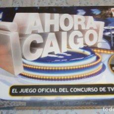 Juegos de mesa: JUEGO AHORA CAIGO EL JUEGO OFICIAL DEL CONCURSO DE ANTENA 3. Lote 194965750