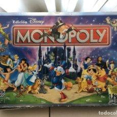 Juegos de mesa: MONOPOLY EDICION DISNEY JUEGO DE MESA KREATEN COMPLETO EN LO PRINCIPAL. Lote 194966942