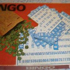 Juegos de mesa: JUEGO DEL BINGO CASA BORRAS AÑOS 70. Lote 194973706