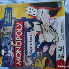 Juegos de mesa: MONOPOLY CAJERO LOCO. Lote 194987351