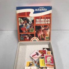 Juegos de mesa: MÍMICA. Lote 195006476