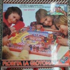 Juegos de mesa: JUEGO ANTIGUO FLORITA GLOTONA FEBBER NUEVO. Lote 195011243