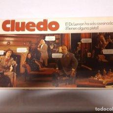Juegos de mesa: CLUEDO JUEGO BORRAS. Lote 195014262