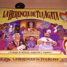 Juegos de mesa: LA HERENCIA DE TIA AGATA (2001). Lote 195044353