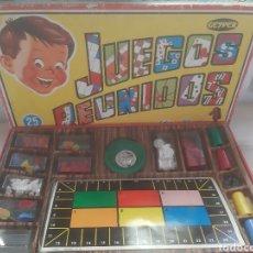Juegos de mesa: JUEGOS REUNIDOS COMPLETO. Lote 195047928