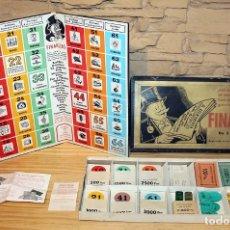 Juegos de mesa: FINANZAS - FRANCISCO ROSSELLO - JUEGOS CRONE - AÑOS 50 - COMPLETO - BIEN CONSERVADO. Lote 195062393
