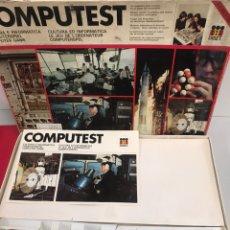 Juegos de mesa: COMPUTEST. Lote 195116641