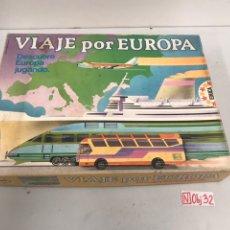 Juegos de mesa: VIAJE POR EUROPA. Lote 195119073