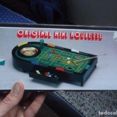 Juegos de mesa: ORIGINAL MINI ROULETTE MADE IN TAIWAN A ESTRENAR 1980-90. Lote 195119823
