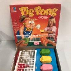 Juegos de mesa: PIG PONG - JUEGOS MB. Lote 195123903