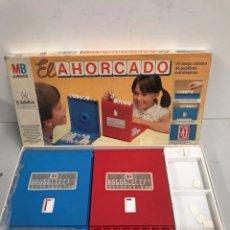 Juegos de mesa: EL AHORCADO - JUEGOS MB. Lote 195131826