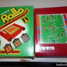 Juegos de mesa: CUATRO EN ROLLO EL ROLLO DE 4 JUEGOS MAGNETICOS ANTIGUO JUEGO RIMA - ARTICULO NUEVO. Lote 195132168