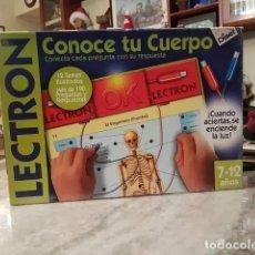 Juegos de mesa: LECTRON CONOCE TU CUERPO. Lote 195132777