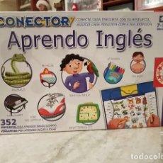 Juegos de mesa: CONECTOR APRENDO INGLÉS. Lote 195133296