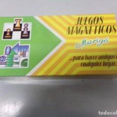 Juegos de mesa: JUEGOS MAGNETICOS MARIGO PARCHIS NUEVO. Lote 195134595