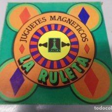 Juegos de mesa: JUEGUETE LA RULETA MAGNETICA,RIMA NUEVO AÑOS 80. Lote 195135717