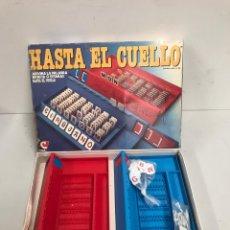 Juegos de mesa: HASTA EL CUELLO. Lote 195149773