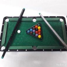 Juegos de mesa: MINI MESA DE BILLAR NUEVA SIN ESTRENAR. Lote 195177290