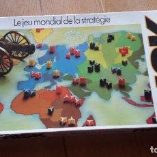 Juegos de mesa: RISK EL JUEGO DE ESTRATEGIA MUNDIAL DE PARKER EN FRANCES,COMPLETO. Lote 195182026