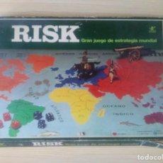 Juegos de mesa: RISK ANTIGUO CAJA GRANDE RECTANGULAR GRAN JUEGO DE ESTRATEGIA MUNDIAL . Lote 195204725
