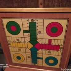 Juegos de mesa: PARCHÍS Y AJEDREZ. Lote 195211027