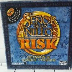 Juegos de mesa: RISK SEÑOR DE LOS ANILLOS EXTENSION DE GONDOR Y MORDOR . Lote 195213902