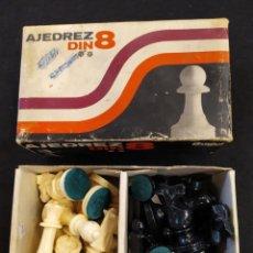 Juegos de mesa: AJEDREZ JUVENIL DIN 8. JUGUETES BUGUI.. Lote 195262165