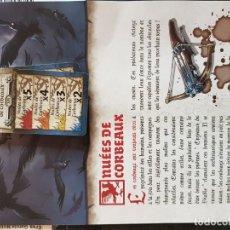 Juegos de mesa: NUÉES DE CORBEAUX. CARTAS E INSTRUCCIONES FRANCÉS. EXPANSIÓN CUERVOS, ZOMBICIDE BLACK PLAGUE. Lote 195282518