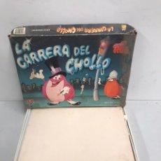 Juegos de mesa: LA CARRERA DEL CHOLLO. Lote 195302633