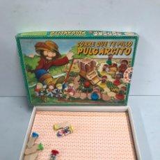 Juegos de mesa: CORRE QUE TE PILLO PULGARCITO. Lote 195302756