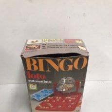 Juegos de mesa: BINGO LOTO AUTOMATIQUE. Lote 195302931