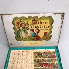 Juegos de mesa: LIBRO ELÉCTRICO. Lote 195303572