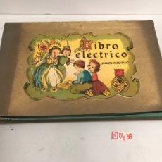 Juegos de mesa: LIBRO ELÉCTRICO. Lote 195303813