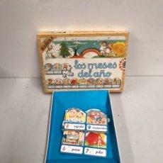 Juegos de mesa: LOS MESES DEL AÑO. Lote 195320317