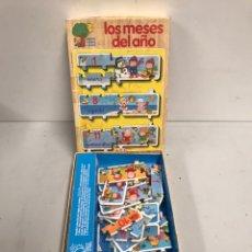 Juegos de mesa: LOS MESES DEL AÑO. Lote 195320411